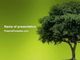Tree Powerpoint Template Powerpoint Templates Trees