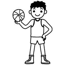 がんばるぞバスケットボール部活動クラブ活動運動学校無料