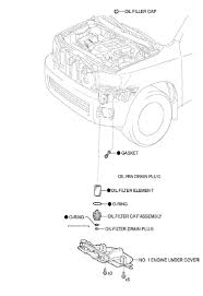 Location of oil filter on 2008 5 7l v 8 toyota sequoia was given