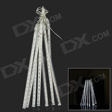 24W 620lm 240-LED Cold White Meteor Rain Style Light Tube Light ...