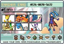 Lana found out about clark's abilities when they were children, after he saved her life. Lana S Trainer Card Pokecharms
