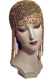 20s Hair Style the jazz baby flapper fringe 20s party cap gold gatsby party 2712 by wearticles.com
