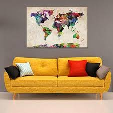animals maps canvas art prints on wall paintings artistic with large wall art big canvas prints icanvas