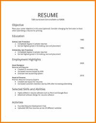 Free Job Resume Templates Winning Samples Dadaji Us