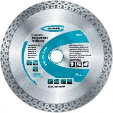 Купить <b>алмазный диск Gross</b> 125х22,2 мм, тонкий: цена в ...