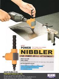 sheet metal cutter drill attachment. attachment sheet metal cutter drill d