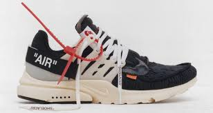 nike air presto. off-white x nike air presto t