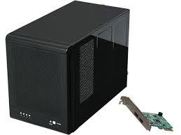 rosewill rsv s4 6g 4 bay 3 5 hot swap spanning jbod enclosure raid 0 1 10 5 5 spare controller card bundle up to 6 gbps transfer rate