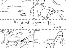 Good Coloring Pages The Samaritan Page Free 5 Seaahco