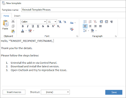 open outlook template how to use templates in outlook 2016 20132007 template phrases