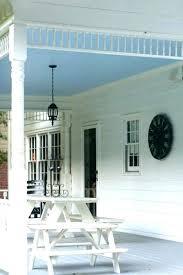 painting porch ceiling blue paint best light color for standard white pain