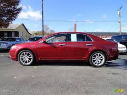2009 Red Jewel Chevrolet Malibu LTZ Sedan #56705430 | GTCarLot.com ...