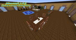 Minecraft Living Room Furniture Modern Livingroom Furniture Minecraft 18x Vanilla With Download