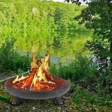 image is loading 80cmlargesteelfirebowlpatiofirepit large metal fire pit p83