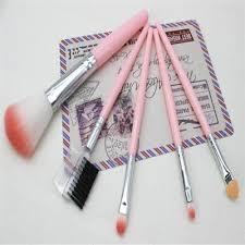 5 pcs portable make up brushes makeup brush set ping promall philippines
