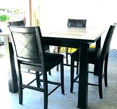 dining tables pub dining table black round home design ideas and pictures wood small set