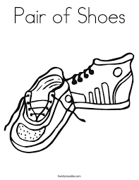 Enter now and choose from the following categories. Pair Of Shoes Coloring Page Twisty Noodle
