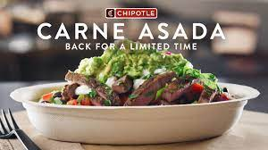 Carne asada returns to Chipotle Mexican ...