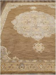rugsville hand tufted wool light brown wool rug 8 x 10