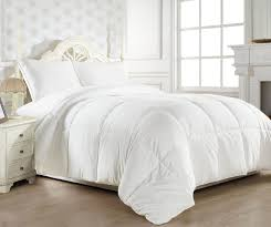 com jr home super soft white down duvet cover insert alternative comforter twin home kitchen