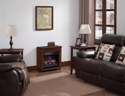 electric chimney free rolling mantel infrared quartz fireplace space heater