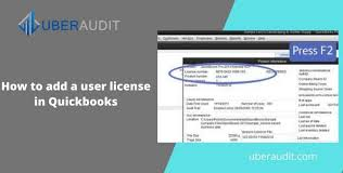 how to add a user license in quickbooks
