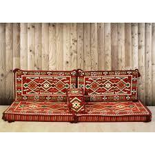anatolia arabic floor seating red