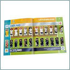 Panini Euro 2020 Tournament Edition Sticker Collection - Hard Cover Album