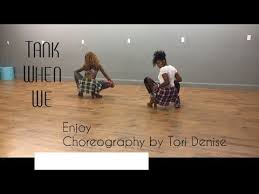 tank when we dance cover cography by tori denise