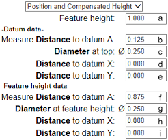 True Position Calculator
