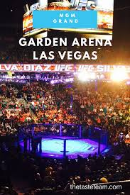 mgm grand garden arena hosts concerts shows and sporting events they re known for holding ufc fights see what it s like inside their events