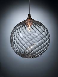 contemporary glass lighting. Contemporary Glass Lighting Pendant Lamp Halogen Breath Globe Exotic Decor Clear . N