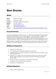 Printable Resume Horsh Beirut