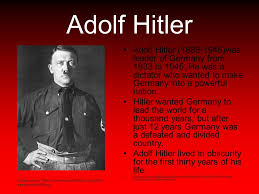 session the rise of nazi ppt 2 adolf hitler