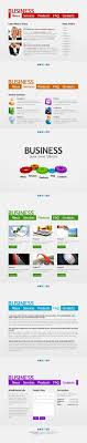 one page website template free business web template single page layout