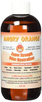 amazon angry orange pet odor eliminator 8 oz bottle industrial strength pet odor remover makes 4 32oz bottles 1 gallon neutralizes and