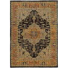 oriental weavers andorra 7138b gold grey area rug