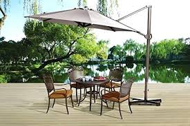 abba patio umbrella replacement parts patio offset cantilever umbrella patio chairs on