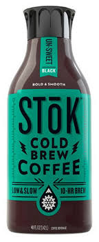 That's how we created stōk. Stok Unsweetened Black Cold Brew Coffee Shop Coffee At H E B