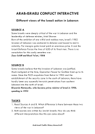 gcse history arab i conflict image 6