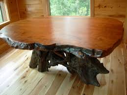wood slab dining table beautiful: live edge tables redwood burl dining table  live edge tables