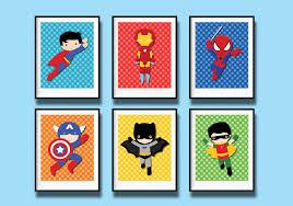 Superhero Bedroom Decor Boy Room Wall Decor Luxury Boy Nursery Wall Decor Wall Decor