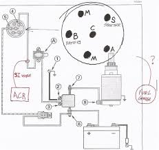 ignition switch wiring question the hull truth boating and here is a copy of the starter wire diagram out of my service manual i drew a blow up of the back of the switch which lug should my fuel gauge power wire