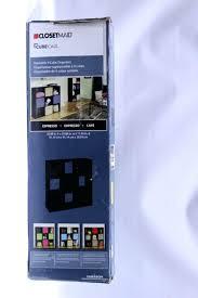 cubeicals organizer organizer 9 cube espresso closetmaid cubeicals 6 cube organizer closetmaid 1292 cubeicals organizer 12 cube espresso