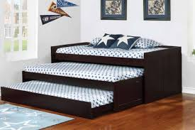 Aaron Cappuccino Triple Daybed 405034