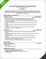 Resume Template For Customer Service Gorgeous Guest Service Manager Resume Customer Experience Report Template C