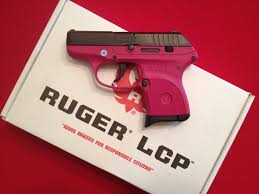 ruger lcp 380 semi auto pistol raspberry pink new picture