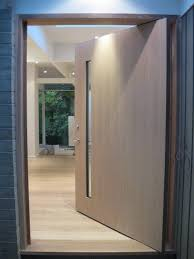 white front doorsWhite Oak Front Door  Contemporary  Entry  Vancouver  by