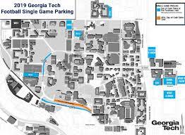 Football Parking Information Georgia Tech Yellow Jackets