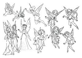 Fairies Coloring Pages Fairies Coloring Pages Coloring Pages And Her